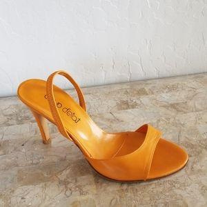 Tangerine Heels